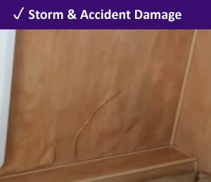 Water and storm damage repairs